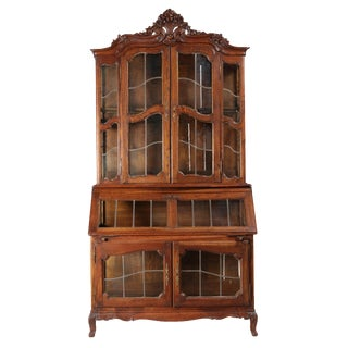 1920s Vitrine Cabinet