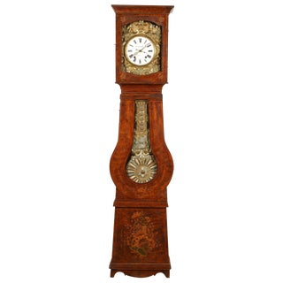 1860 Country French Morbier Clock