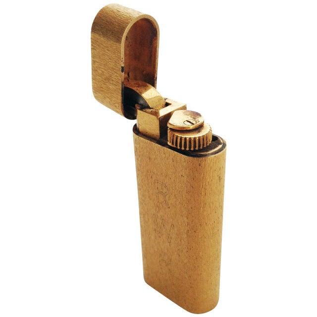 18-Karat Gold Cartier Pocket Lighter - Image 1 of 6