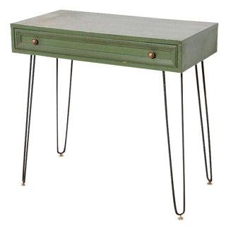 Hairpin Leg Mid Century Console Table