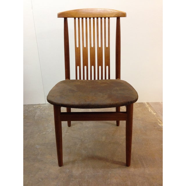 Image of Danish Teak Dining Chairs - Set of 6