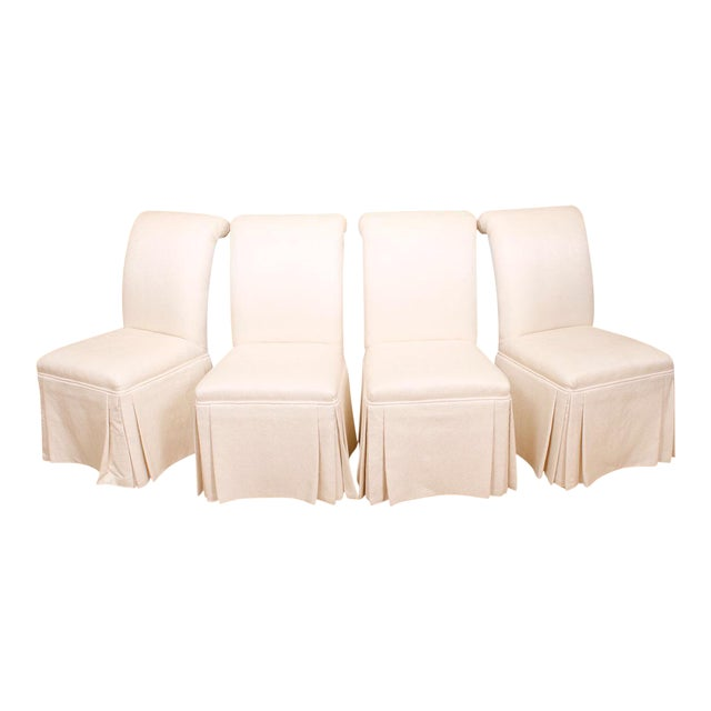 Roche bobois upholstered dining chairs set of 4 chairish - Roche bobois chaises ...