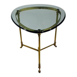 1970's LeBarge Triangular Occasional Table