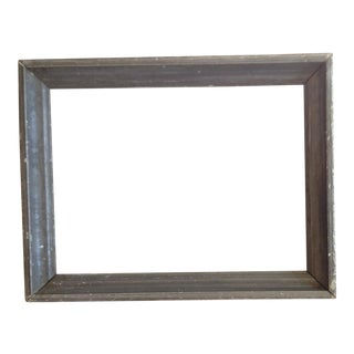 Vintage Gray Wood Frame