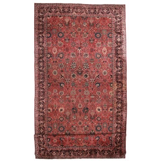"RugsinDallas Antique Wool Turkish Sparta Rug - 11'5"" X 25'2"""