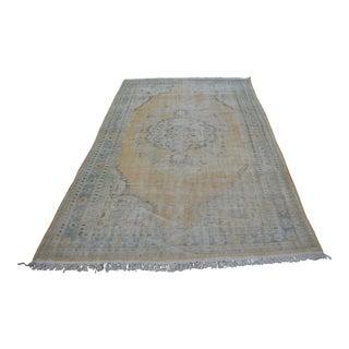 "Faded Bohemian Turkish Area Carpet - 69"" x 110"""