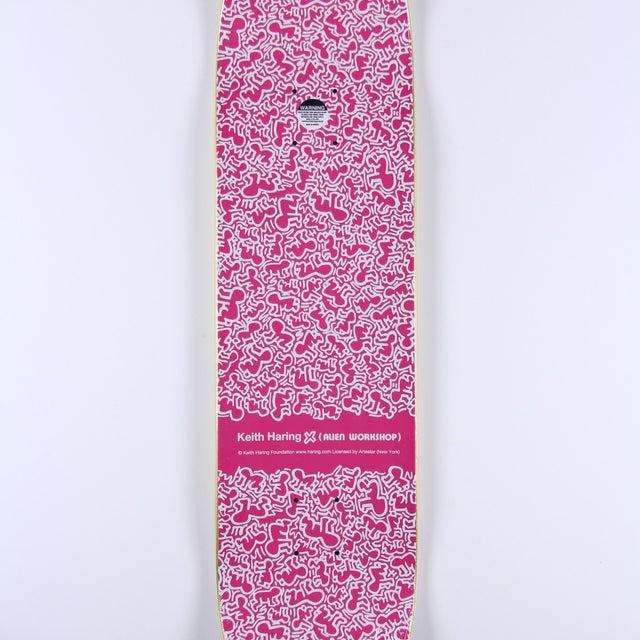 Image of Rare Keith Haring Green Skate Deck