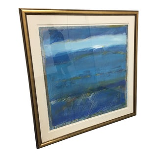 San Francisco By The Bay Framed & Signed Abstract By Hamilton