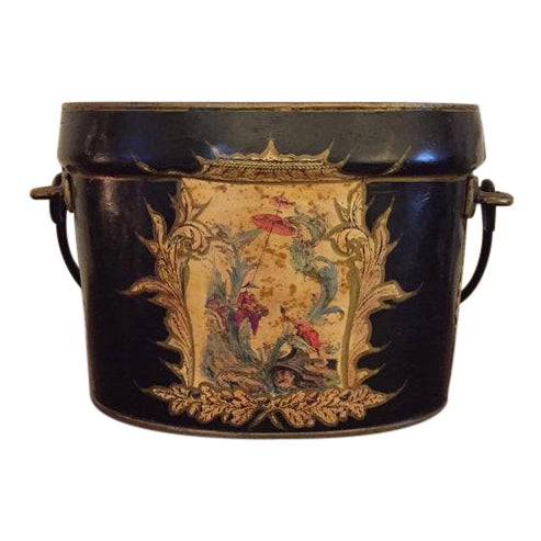 Cast Iron Decorative Bucket - Image 1 of 6