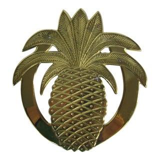 Vintage Brass Pineapple Trivet