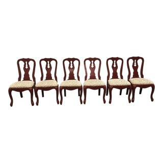 Red Pottery Barn Dining Chairs - Set of 6