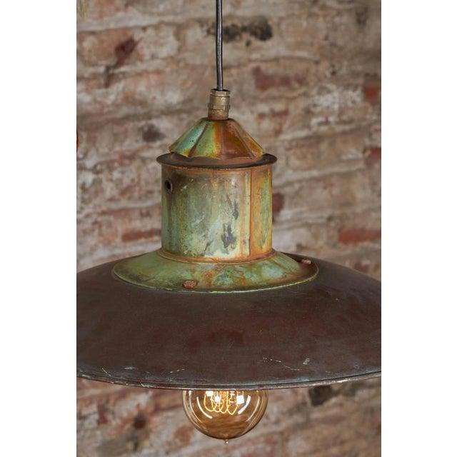 Danish Copper Pendant Lamp - Image 3 of 6