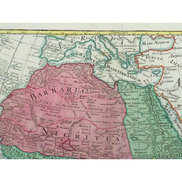 1778 Africa Map by Lotter - Image 10 of 10