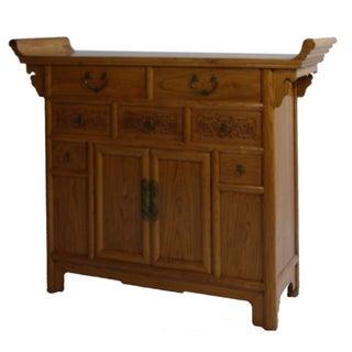 Antique Chinese Elm Dresser