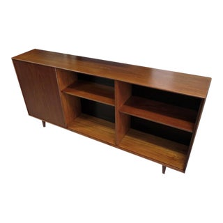 1950s George Nelson Thin Edge Narrow Bookcase
