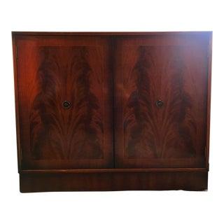 Mahogany TV Cabinet