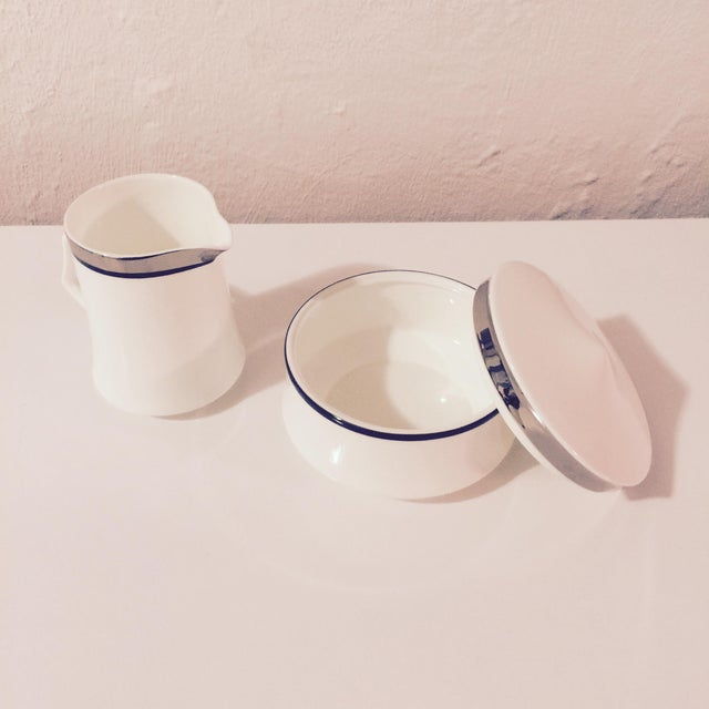 Mikasa Bone China Creamer & Sugar Bowl Set - Image 6 of 8