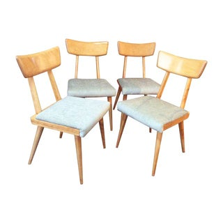 1960's Modernist Dining Chairs - Set of 4