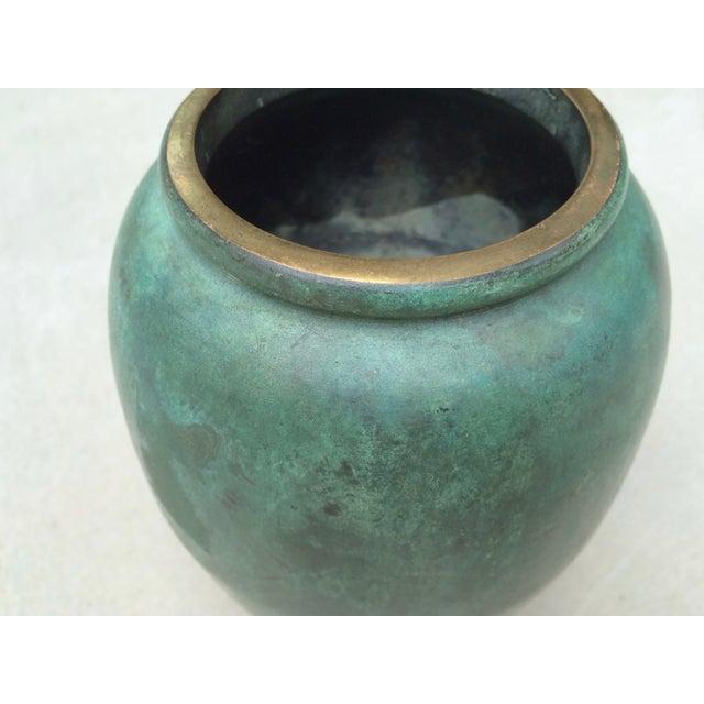 Vintage Bronze Vase - Image 4 of 6