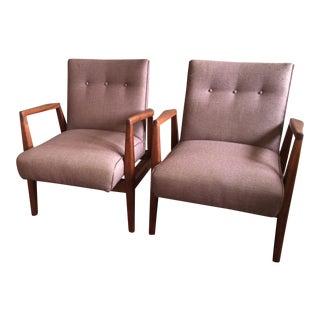 SAS Copenhagen Mid-Century Chairs - A Pair