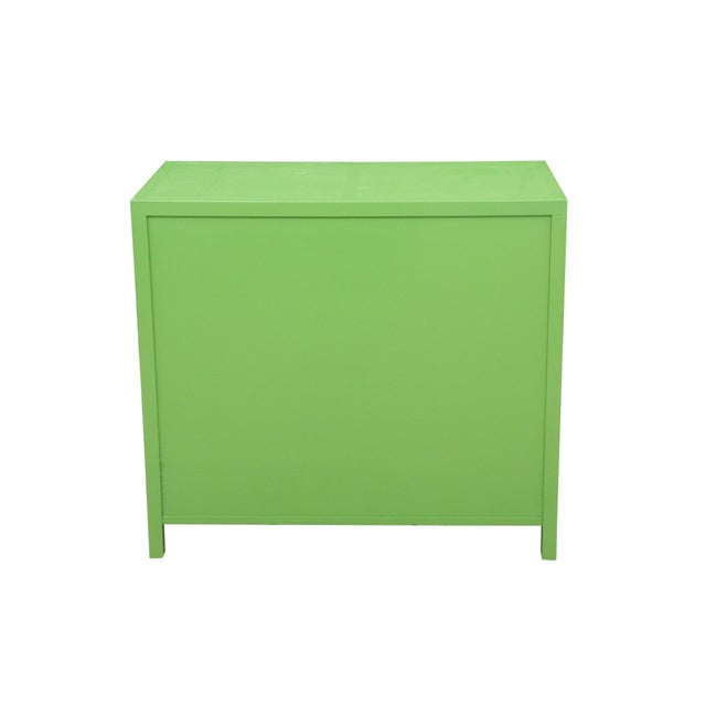 Midcentury Style Green and Pink Chest of Drawers - Image 7 of 7