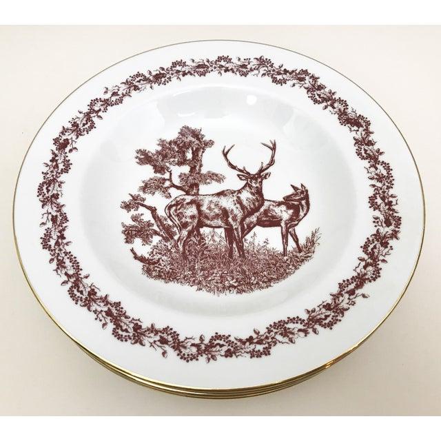Black Forrest Theme Jlmenau Graf Von Henneberg Dinnerware - 22 Pieces - Image 4 of 11
