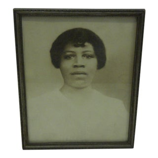 Vintage 'Professional Black Woman' Photograph