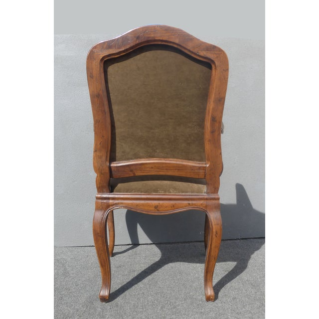 French Henredon Mohair Dining Chairs - Set of 6 - Image 9 of 11