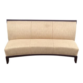 Curved Schnadig Contemporary Sofa