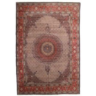 RugsinDallas Vintage Hand Knotted Wool Persian Mood Rug - 11′1″ × 16′1″