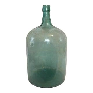 Antique Hand Blown Large Scale Demijohn Wine Jug