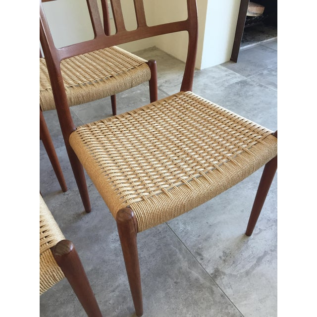 Niels Moller Teak Dining Chairs No 79 S 7 Chairish