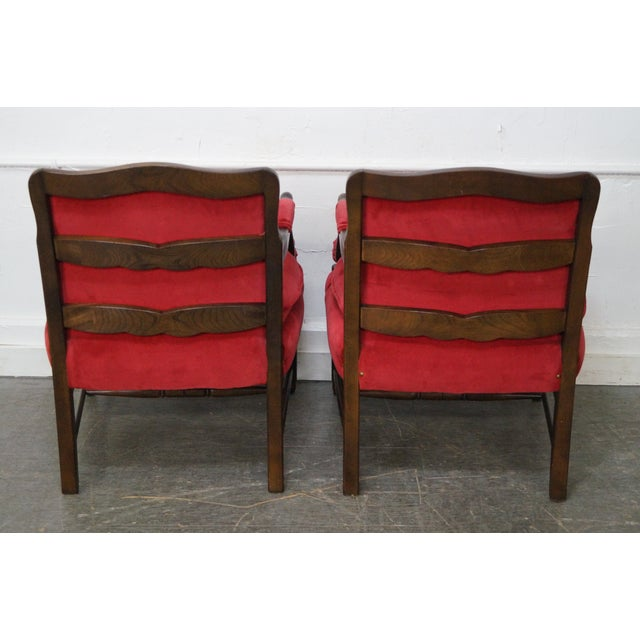French Country Fauteuils Arm Chairs - A Pair - Image 5 of 11