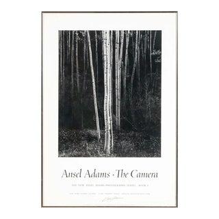 Signed Ansel Adams Framed Poster