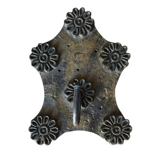 Repurposed 19th Century Printing Stamp Hook