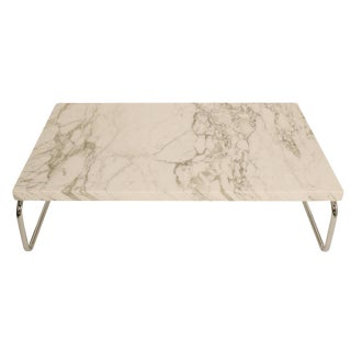 Monolithic Marble Cocktail Table by Michael McCarthy for Cassina