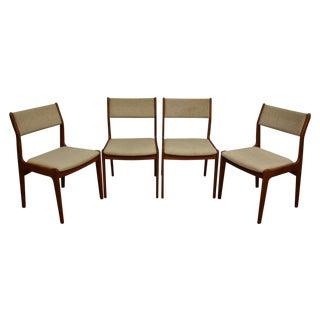 Teak Dining Chairs - Set of 4