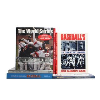 Vintage Baseball Books - Set of 7
