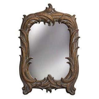 Vintage Syroco Wood Mirror
