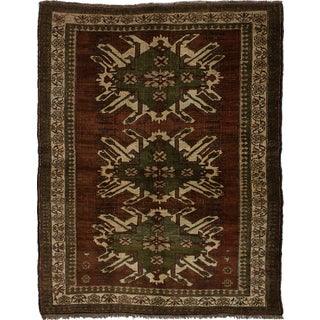 "Vintage Turkish Anadol Rug - 5'11"" x 7'7"""