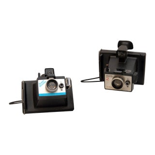 Vintage Polaroid Camera - A Pair