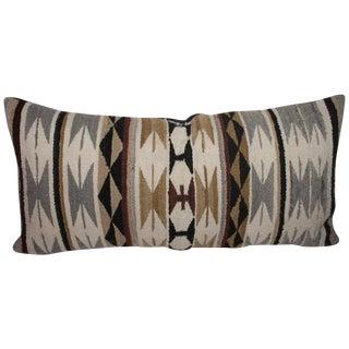 Navajo Geometric Weaving Bolster Pillow