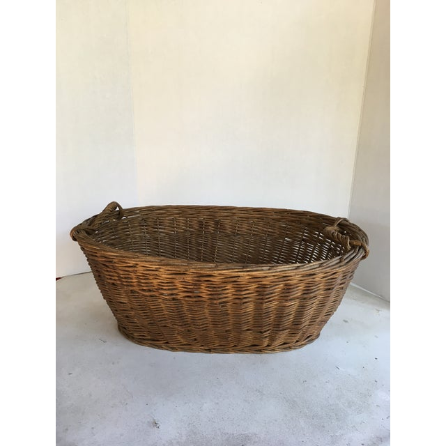 Oval French Patina Basket - Image 7 of 7