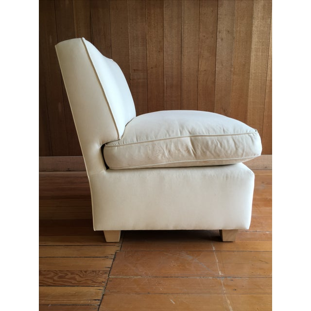 Slipper Chair + Custom Upholstery Service - Image 5 of 5