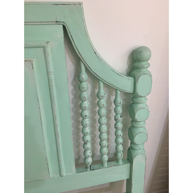 Vintage Seaglass Twin Headboard - Image 3 of 4