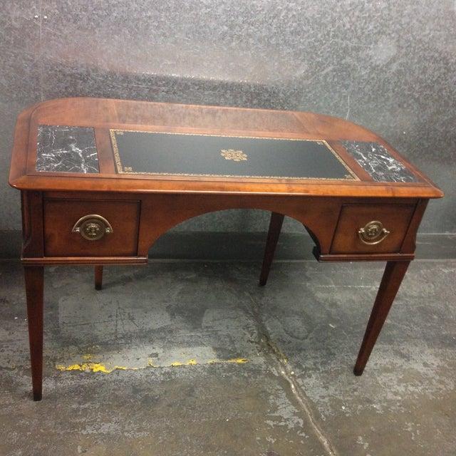 Antique Style Desk - Image 9 of 10