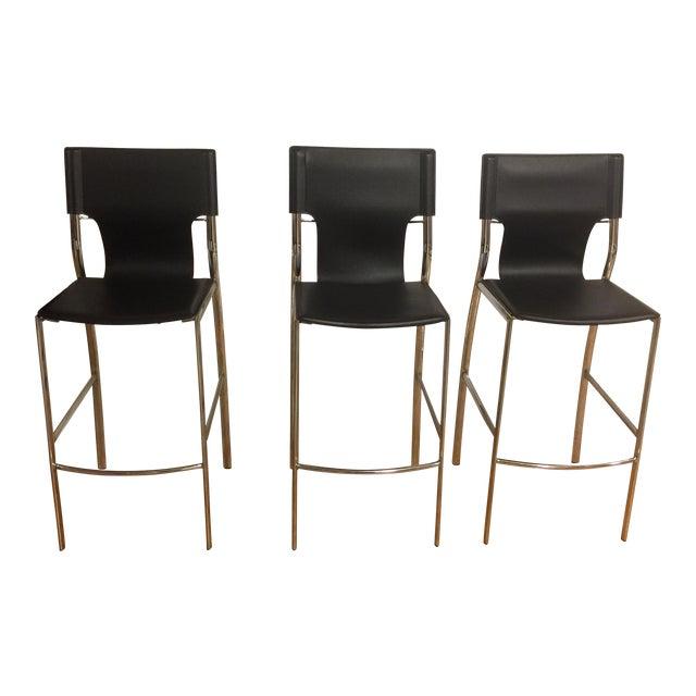 Jensen-Lewis Bar Stools - Set of 3 - Image 1 of 9