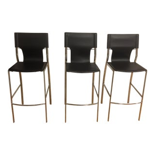 Jensen-Lewis Bar Stools - Set of 3