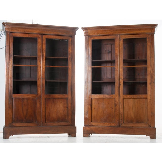 Pair of French 19th Century Louis Philippe Bibliotheques - Image 2 of 10