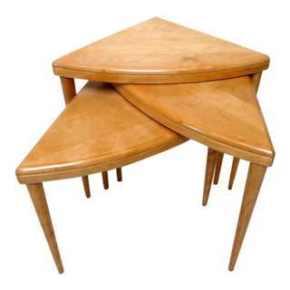 Heywood Wakefield Nesting Tables - Set of 3